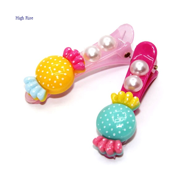 Poly Candy Hair Clip Dark Clip for Kids