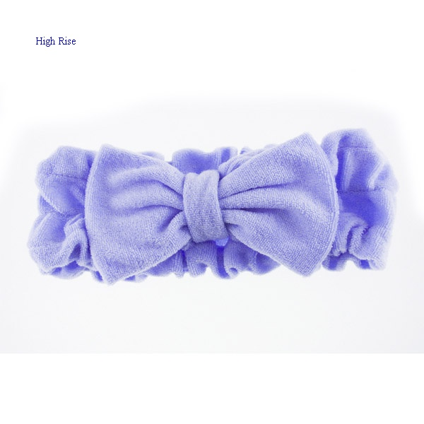Terry Bow Headband For Winter