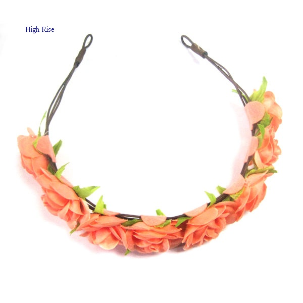 Imitation Rose Crown Alice Band