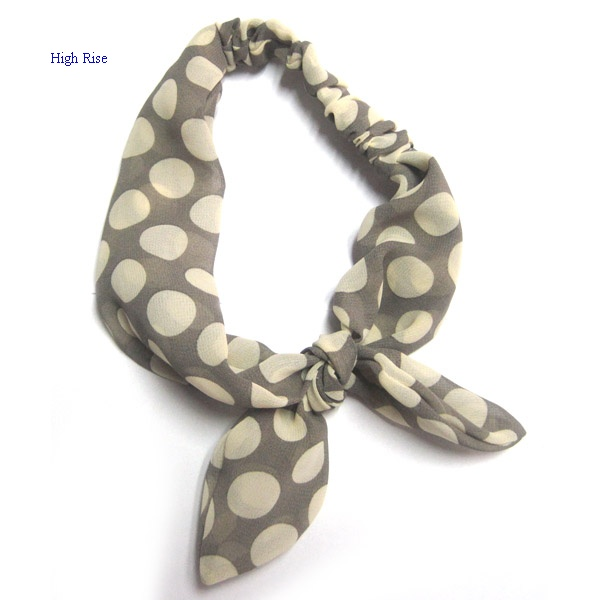 Big Polka Dots Bow Headband