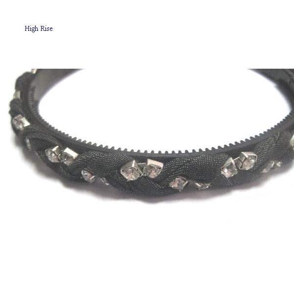 Braided Crystal Alice Band