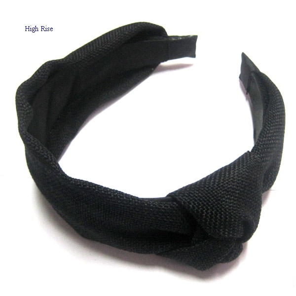 Black Knotted Alice Band