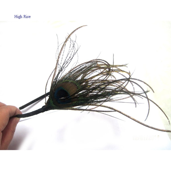 Peacock Tail Feather Alice Band