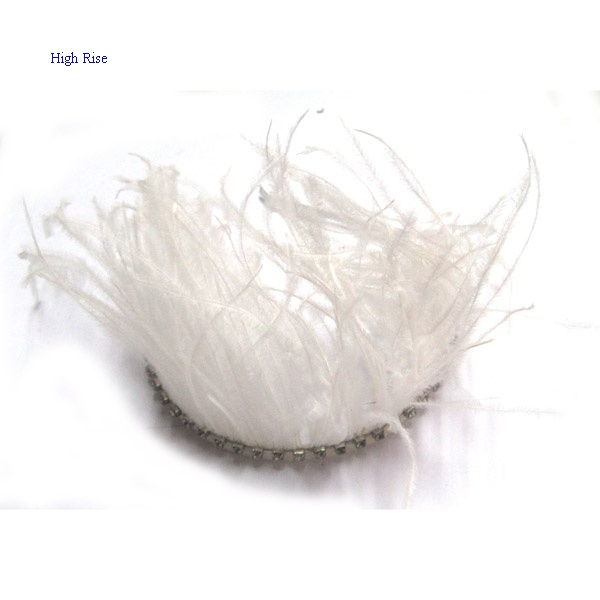 White Feather Crown Alice Band