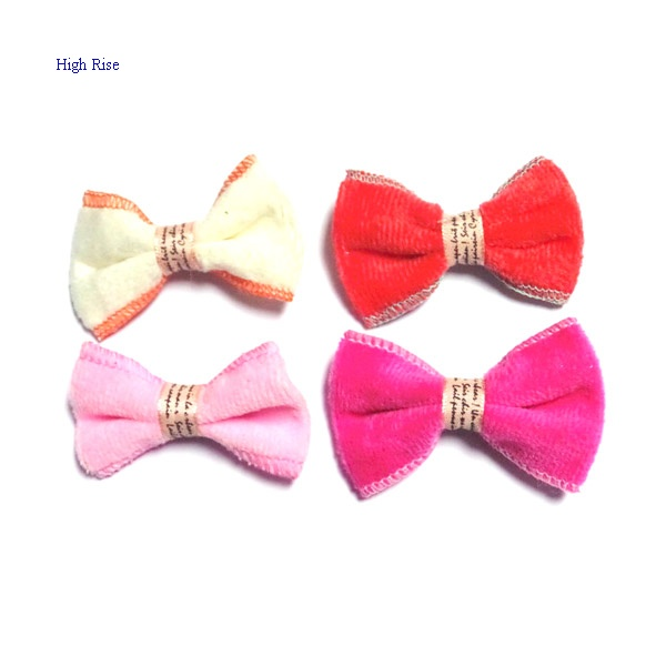 Terry Bow Hair Clip