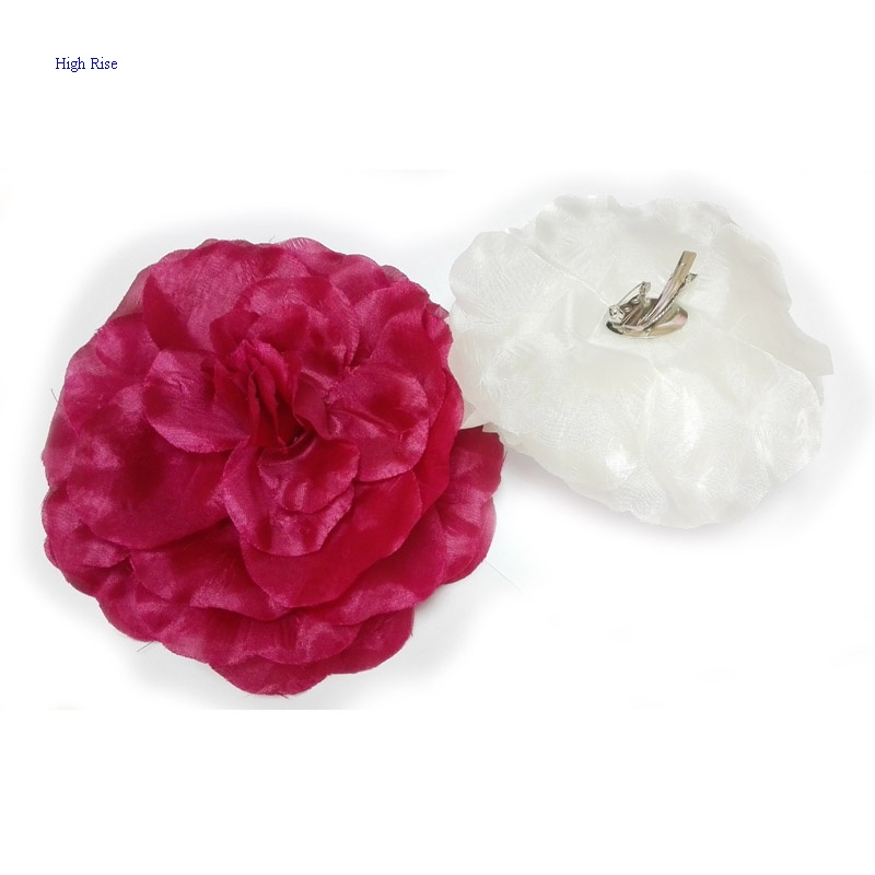 Large Flower Hair Clip For Party