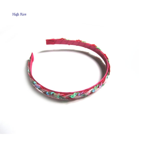 Sequin Wrapped Headband Alice Band