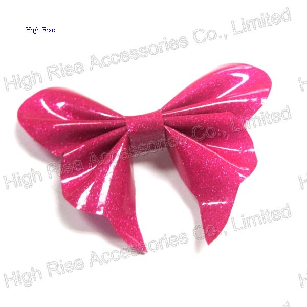 Glitter PVC Butterfly Hair Clip Alligator Clips