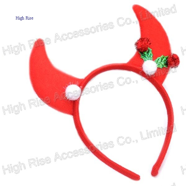 Christmas Horn Ear Headband Party Headband