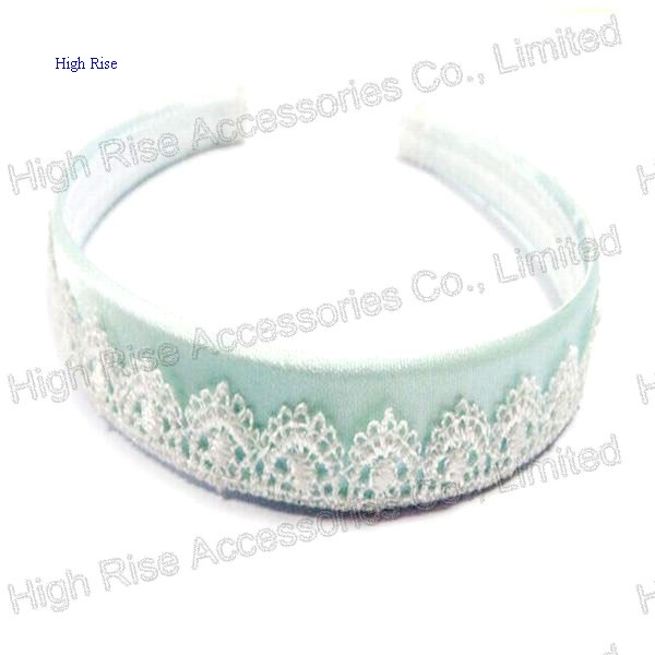 Lace Pattern Wrapped Alice Band