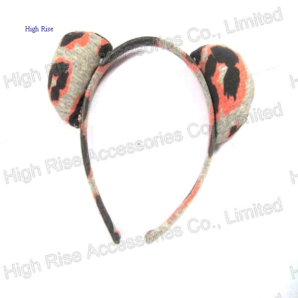 Animal Pattern Ear Alice Band
