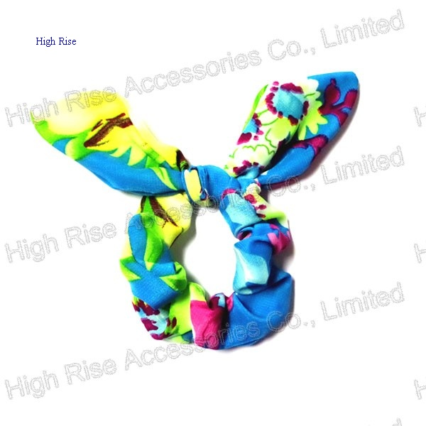 Colorful Pattern Ear Scrunchie