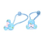 Cute Cartoon Poly Hair Elastic Polytail Holder For Kids