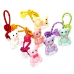 Cute Poly Bears Hair Elastic Ponytail Holder For kids