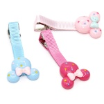 Cute Poly Cartoon Hair Clip Duck Clip For Kids