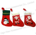 Christmas Santa Pattern Socks