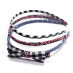 Cute Floral Alice Band Set for Kids