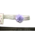 Small Chiffon Flower Elastic Headband For Kids