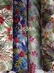 Colorful Flowers Pattern Fabric