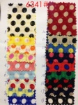 Colorful Polka Dots Fabric