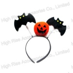 Halloween Pumpkin and Bat Headband Party Headband