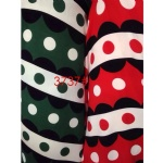 Polka Dots Cartoon Color Pattern Fabric Suit For AW