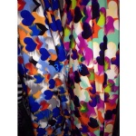 Colorful Hearts Pattern Fabric Suit For AW