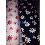 Flowers Pattern Fabric Suit For AW