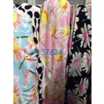 Sunflower Pattern Fabric Suit For AW