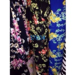 Floral Fabric Suit For AW