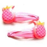Poly Pineapple Hair Clip