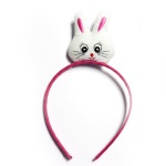 Cute Rabbit Head Charm Alice Band For Easter