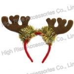Christmas Reindeer Antlers Headband, Party Headband
