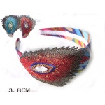 Embroidered Peacook Tail Ethnic Alice Band