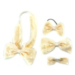 Lace Bow Hair Accessories Kits