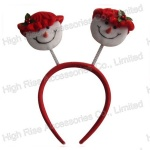 Christmas Snowman Headband, Party Headband, promotional  gift
