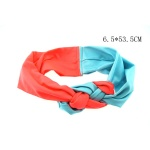 Double Colored Braided Headband