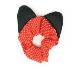Dotted Cat Ear Scrunchie