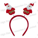Christmas Santa Headband, Christmas Promotional Gift, Party Headband