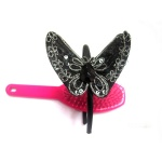 Sead Beaded Butterfly Alice Band