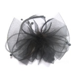 Large Mesh Bow Alice Band