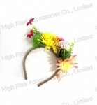 Spring Floral Corsage Headband /hair accessories/Alice band