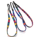 Double Faced Colorful GEO Pattern Elastic Headband