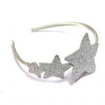 Slilver Glitter Star Headband Alice Band