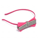 Double Colors Bow Alice Band