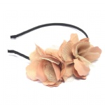 Doulbe Mesh With Fabric Flower Alice Band