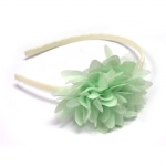 Green Mesh Flower Alice Band 2016 Trend