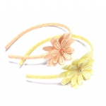 Embroidered Flower Alice Band