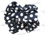 Navy Jasmine Turban/hair band/Bandana