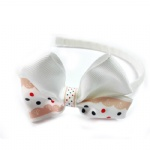 Grosgrain Ribbon Bow Alice Band